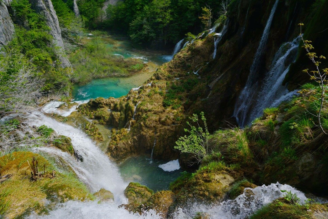Shot of Plitvice Lakes (I didn't go off trail, unlike some people!)