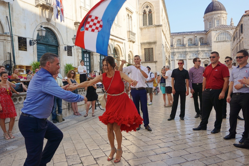 Flags, Fire, and Accordions: Inside the Croatian Wedding Experience