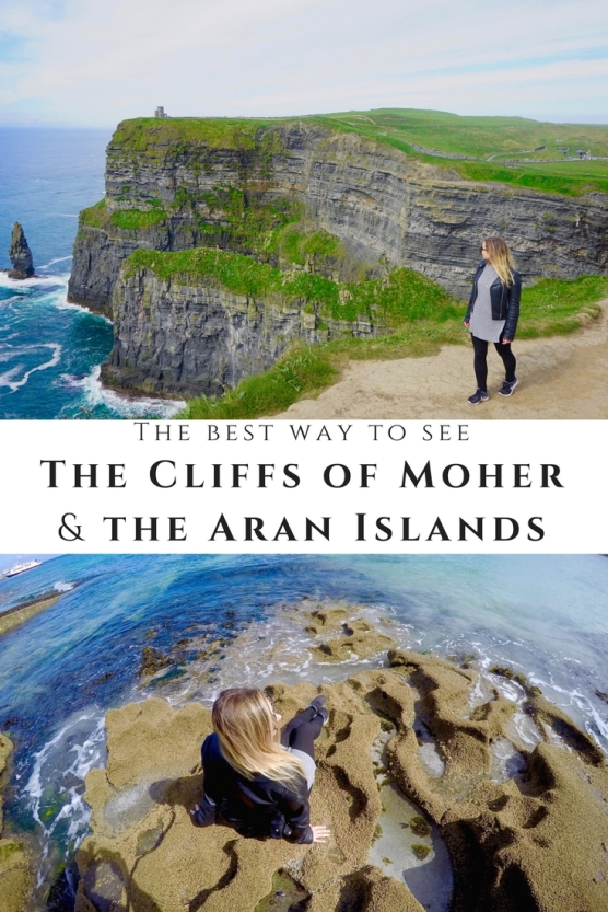 The Cliffs of Moher and the Aran Islands are a must for your Ireland bucketlist! Here's the best way to see these attractions from the Galway area. More pictures and tips inside!