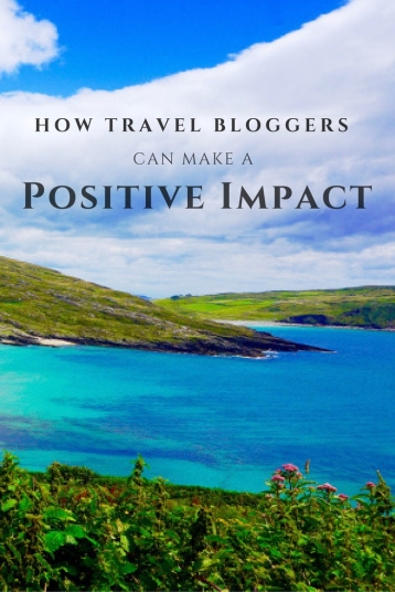 How travel bloggers can use their influence to write responsibly while traveling mindfully and sustainable. Here's how travel bloggers have travel bloggers can be role models.